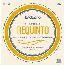 Daddario EJ94 Requinto Strings Requinto Guitar Strings Silver on Nylon, New!