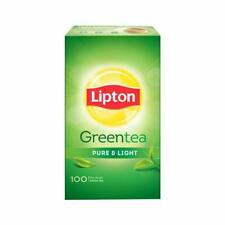 Lipton Pure and Light Green Tea Bags, 100 Pieces  With Free Shipping Worldwide.