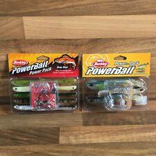 2 x Berkley Power Bait Power Pack Seabass Bar & Drop Shot Fishing Lures