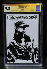 THE WALKING DEAD ROSITA 9.8 SKETCH COVER Chris McJunkin CGC SIGNATURE SERIES SS