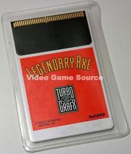 NEC TURBO GRAFX 16 Cartridge # The Legendary Axe # pc engine * Top