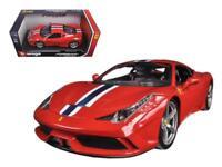 Ferrari 458 Speciale Red 1-18 Diecast Model Car by Bburago