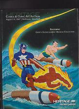 Heritage Auctions Comics & Comic Art Auction Catalog Geppi's Museum Collection