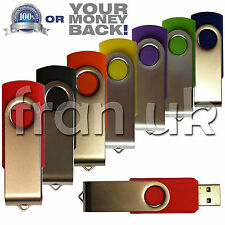 32 Gb Giratorio Usb 2.0 Flash Drive Memory Stick Pen dispositivo de almacenamiento pulgar U Disco Uk