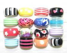 Wholesale Lots 20Pcs Assorted Colored Lucite Resin Fashion Jewelry Rings