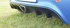 Vauxhall Corsa D VXR OPC Racing Rear Bumper Diffuser Spoiler Styling