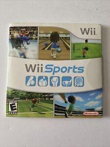 Wii Sports (Nintendo Wii, 2006) Video Game Disc - Tested & Working w/ Manua