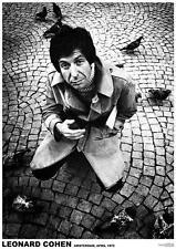 "LEONARD COHEN POSTER ""AMSTERDAM 1972"""