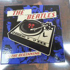 THE BEATLES ' IN THE BEGINNING ' BOX SINGLES BLUE LIMITED  7''