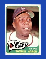 New listing 1965 Topps Set Break #567 Tommie Aaron EX-EXMINT *GMCARDS*