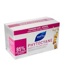 PHYTO PHYTOCYANE WOMEN Hair Thinning Treatment Energising 12x7.5 ml