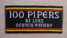 100 Pipers Scotch Whisky Beer Bar Towel Pub Home Bar Man Cave New Unused