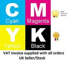 Full Set of 4 Oki C610 DN CDN Toner Ink Cartridges C610DN C610CDN Non-OEM