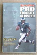 THE SPORTING NEWS TSN NFL FOOTBALL REGISTER - 2001
