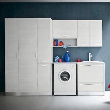 L03 – Mobile lavanderia L 262 x P 63/20,8 cm personalizzabile COMPAB