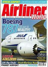 Airliner World Magazine 2007 September Air Comet,787 Dreamliner,Egyptair