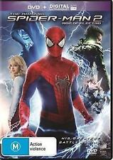 THE AMAZING SPIDER MAN 2 RISE OF ELECTRO - BRAND NEW & SEALED R4 DVD + UV (2014)