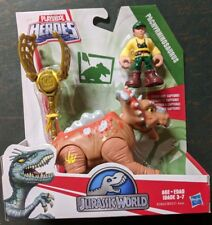 Playschool Heroes Jurassic World Park Pachyrhinosaurus & Dinosaur Man MOC