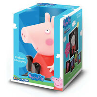Peppa Pig Illumi-Mates Bedroom Colour Changing LED Light Pink