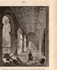 FORBIN NOTRE DAME DES SARRASINS IMAGE 1855 OLD PRINT