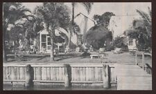 Postcard Clearwater Florida/Fl He-Lo-Ha Motel view 1930's?