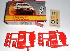 Toyota celica, kit Kit, playkit Games Collection en 1:82 (más bien 1:100?) embalaje original!