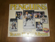 1987-88 PITTSBURGH PENGUINS TEAM PHOTO ALBUM - KODAK