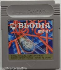 Import JAP: jeu BLODIA pour nintendo game boy spiel juego de collection puzzle