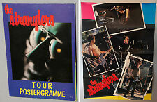 RARE The STRANGLERS 1980 Tour Poster Program VINTAGE 2 Sided Postergramme Raven
