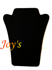 Black Velvet Necklace Jewellery Display Stand/Bust * Free 1st Class Delivery*