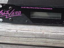 ART  Multiverb 20 bit multi effects processor
