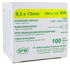 Needle for mesotherapy SFM 30G*13 mm 100 pcs/box