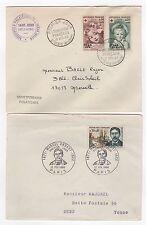 France  5 FDC enveloppes timbres 1er jour des années 60 /FDC168