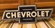 Chevrolet Super Service Truck Advertisement Emblem Garage Man Cave Gas Oil New