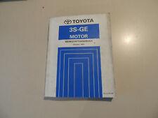 Werkstatthandbuch MOTOR 3S-GE Toyota Celica ST202 MR2 SW20 Reparaturanleitung