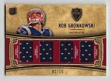 2010 Topps Supreme Rob Gronkowski Quad Jersey Rc (02/15)