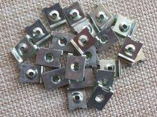 15x FICHE écrou métallique protection moteur anti-encastrement clips pour Mini