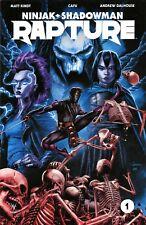 Rapture #1-4 complete set Valiant Ninjak Shadowman Rex Tama Geomancer Matt Kindt