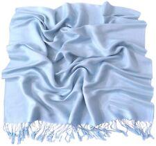CJ Apparel Solid Colour Design Shawl Scarf Wrap Stole Throw Seconds Pashmina NEW