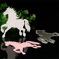 Pferd DIY BStencil Cutting Dies Scrapbook Embossing Schablone-Stanzschablon S6D3