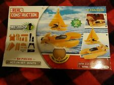 Real Construction Action Set: Two Boats with Motor- 64 Pieces