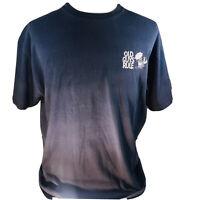 Old Guys Rule Men's Size XL Shirt Tee T-Shirt Blue Graphic Beach Umbrella Drink
