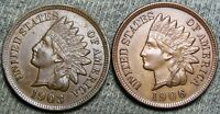 1903 1906 Indian Cent Penny ----- STUNNING Coin Lot ----  #L293