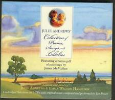JULIE ANDREWS Collection Of Poems Songs And Lullabies 2-CD DIGIPACK