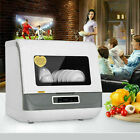 Portable Countertop Dishwasher Compact Dishwashers Fruit Vegetables Dishes Clean photo