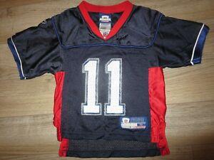 Drew Bledsoe #11 Buffalo Bills NFL Reebok Jersey Baby Toddler 4T