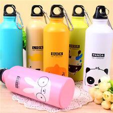 500ml Cute Cartoon Cup Mug Outdoor Sports Cycling Hiking Aluminum Water Bottle*