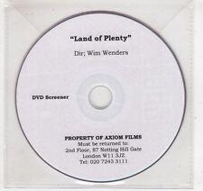 (GV668) Land Of Plenty - DJ DVD