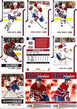 2011-12 Panini Score Montreal Canadiens Complete Team Set (18)