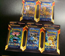 Pokemon Xy Evolutions Plus 5 Cards Blister Pack Lot Of 5.